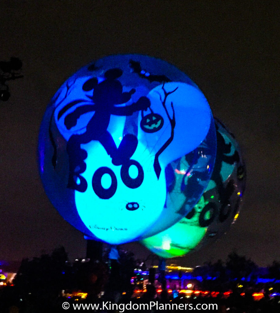 Kingdom Planners Mickey's Not-So-Scary Halloween Party Balloon