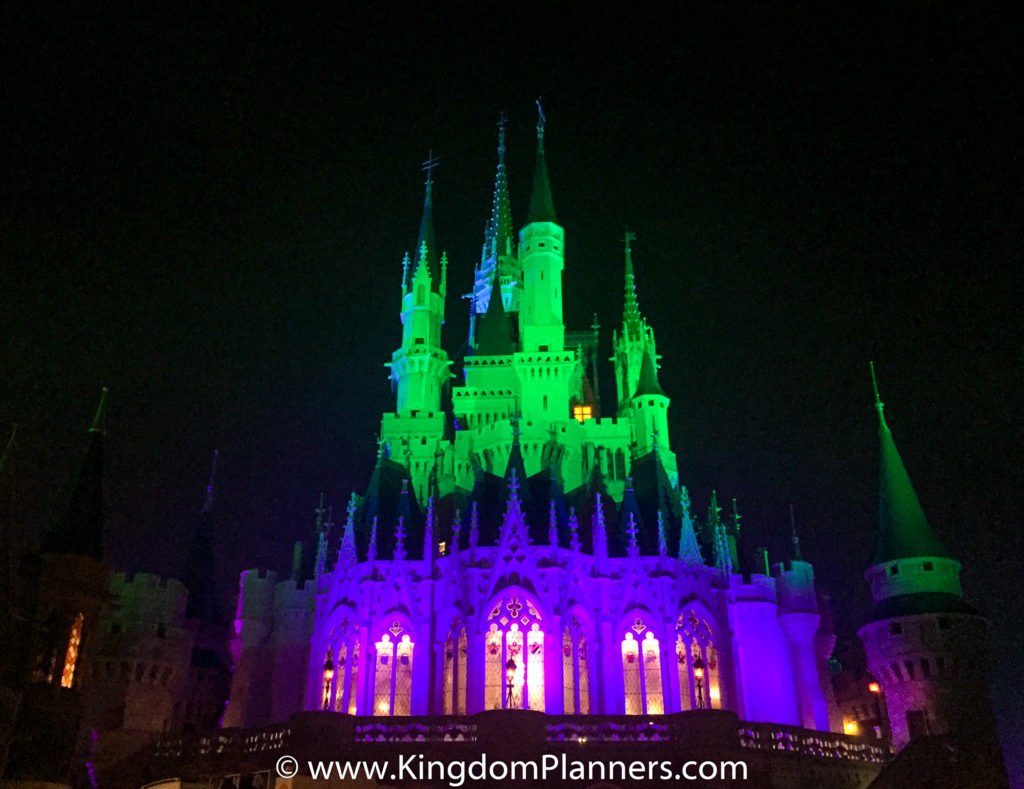 Kingdom Planners Mickey's Not-So-Scary Halloween Party Castle