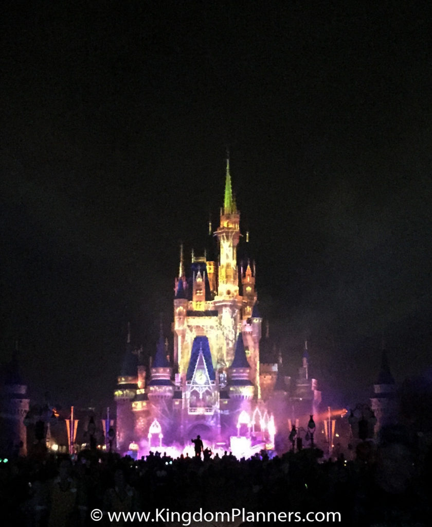 Kingdom Planners Mickey's Not-So-Scary Halloween Party Castle Front