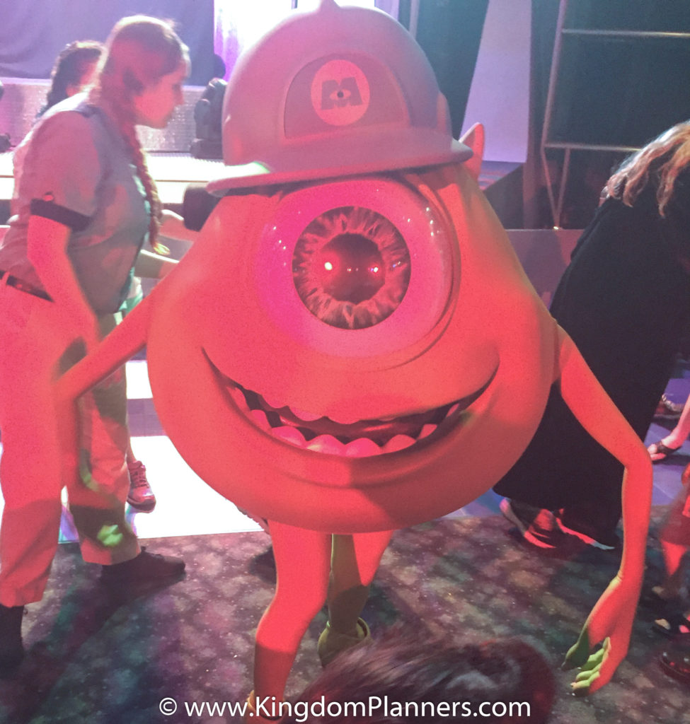Kingdom Planners Mickey's Not-So-Scary Halloween Party Monsters Inc