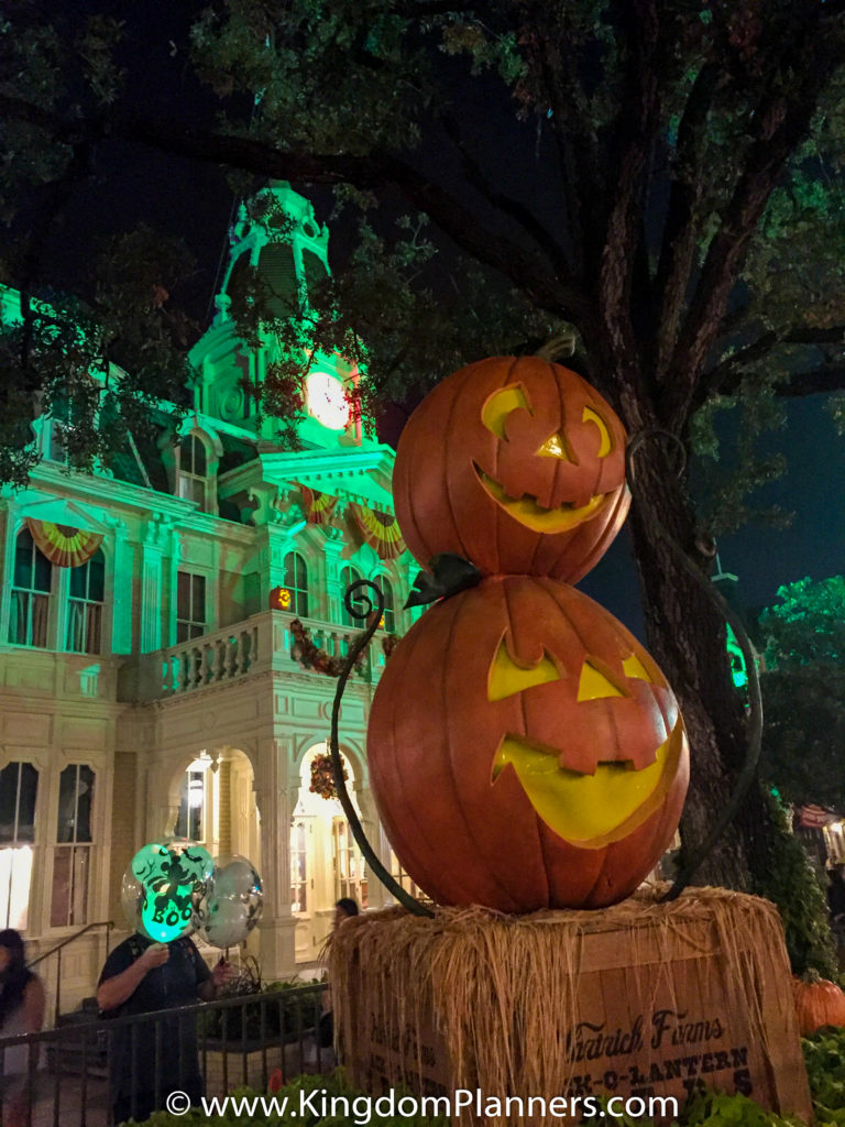Kingdom Planners Mickey's Not-So-Scary Halloween Party Pumpkin