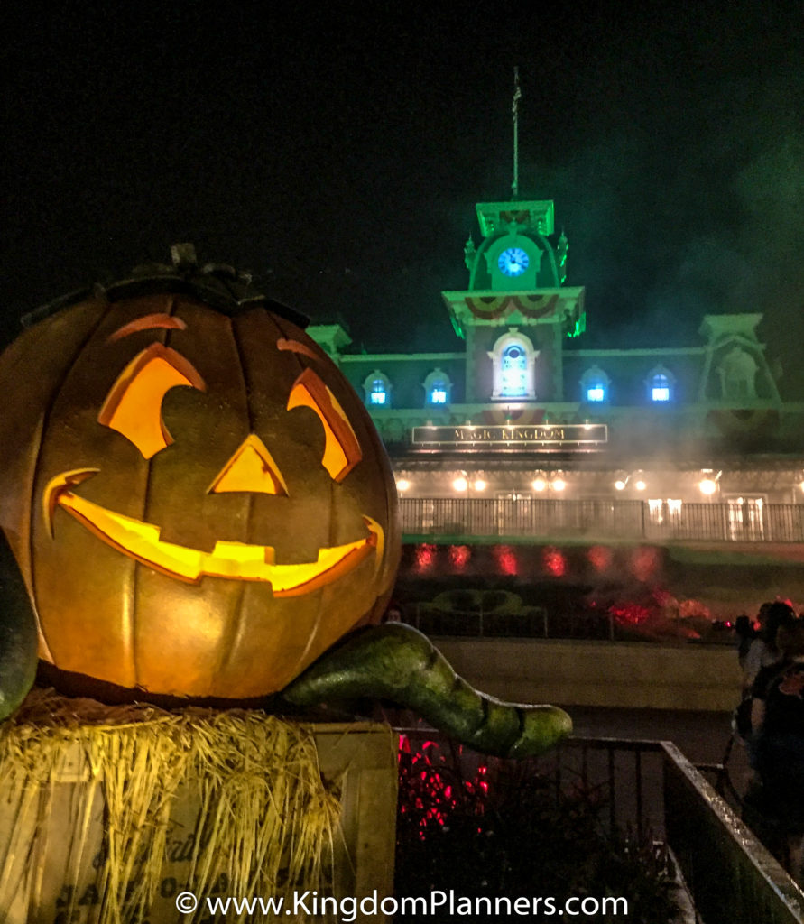 Kingdom Planners Mickey's Not-So-Scary Halloween Party Pumpkin Train Station