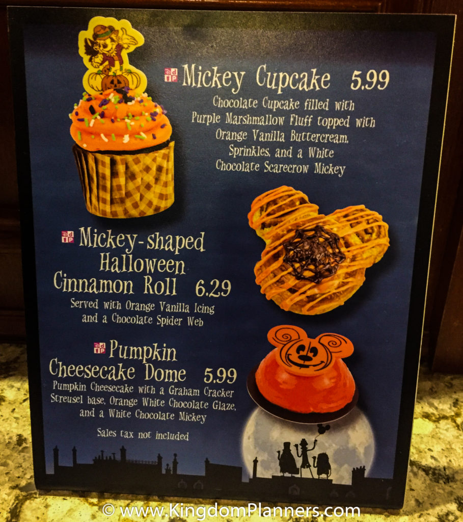 Kingdom Planners Mickey's Not-So-Scary Halloween Party Treats